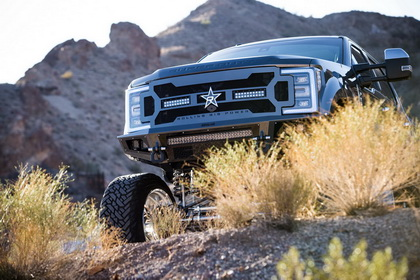 Ford F-350 with RBP MIDNIGHT GRILLE