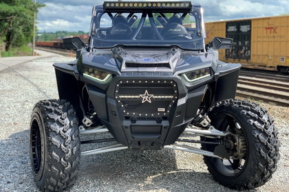 Polaris RZR with RBP Grille RX3