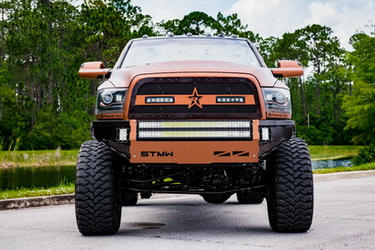 RAM 2500 with RBP Grille Midnight