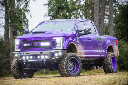 Ford F-250 with RBP Grille Midnight, Wheel 71R