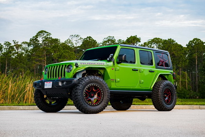 Jeep Wrangler with RBP Wheel 50R COBRA