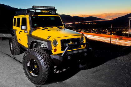 Jeep Wrangler with RBP Grille NDX Series