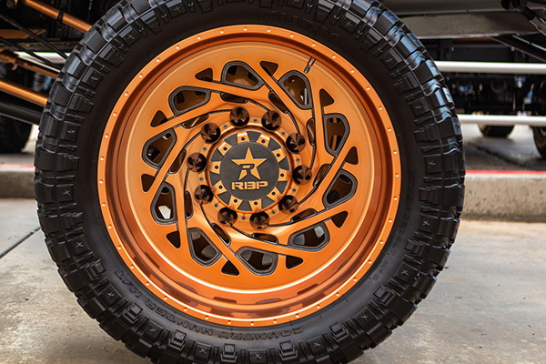DUALLY WHEELS